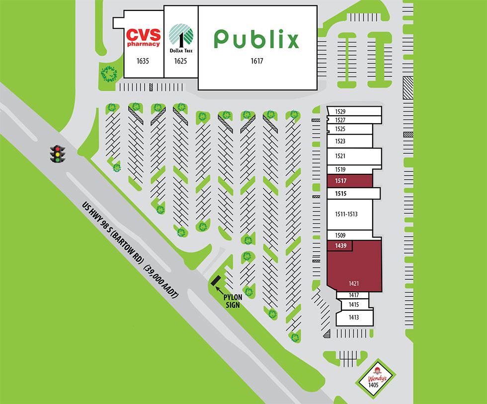 Grove Park siteplan