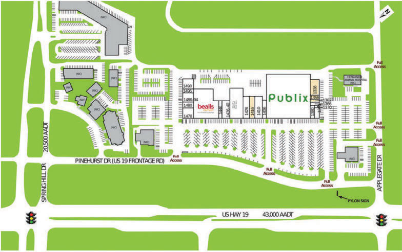 Hernando site plan