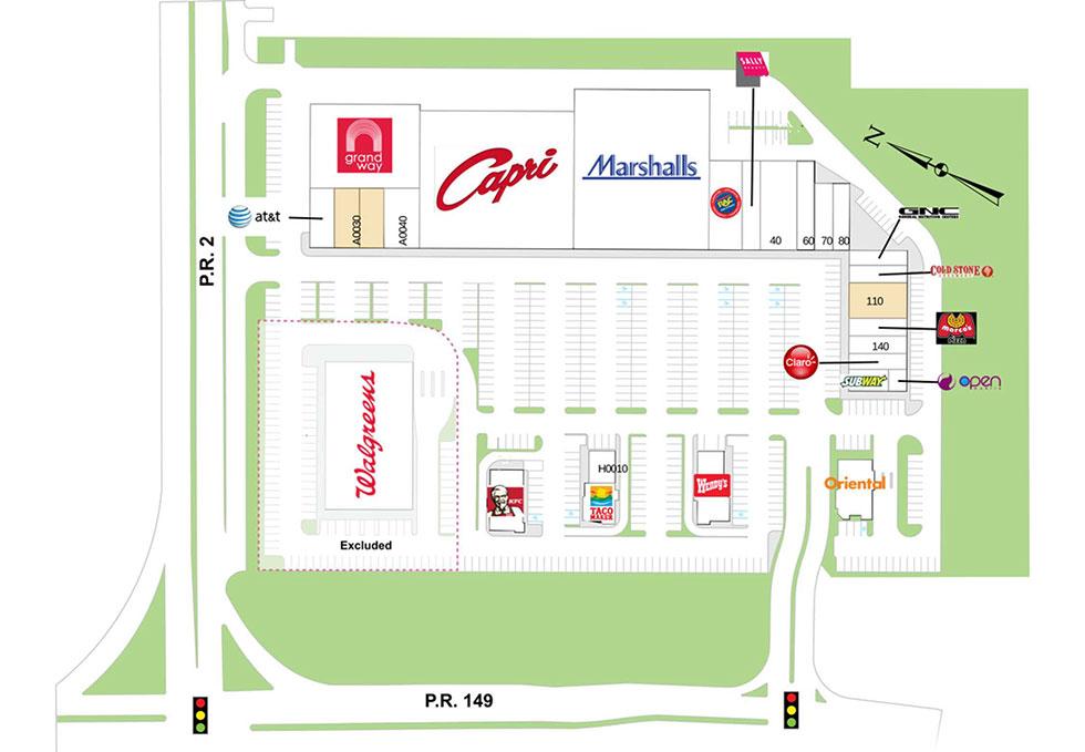 Manati site plan