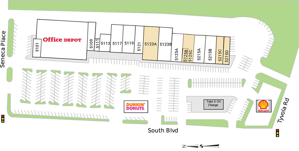 Seneca Square siteplan