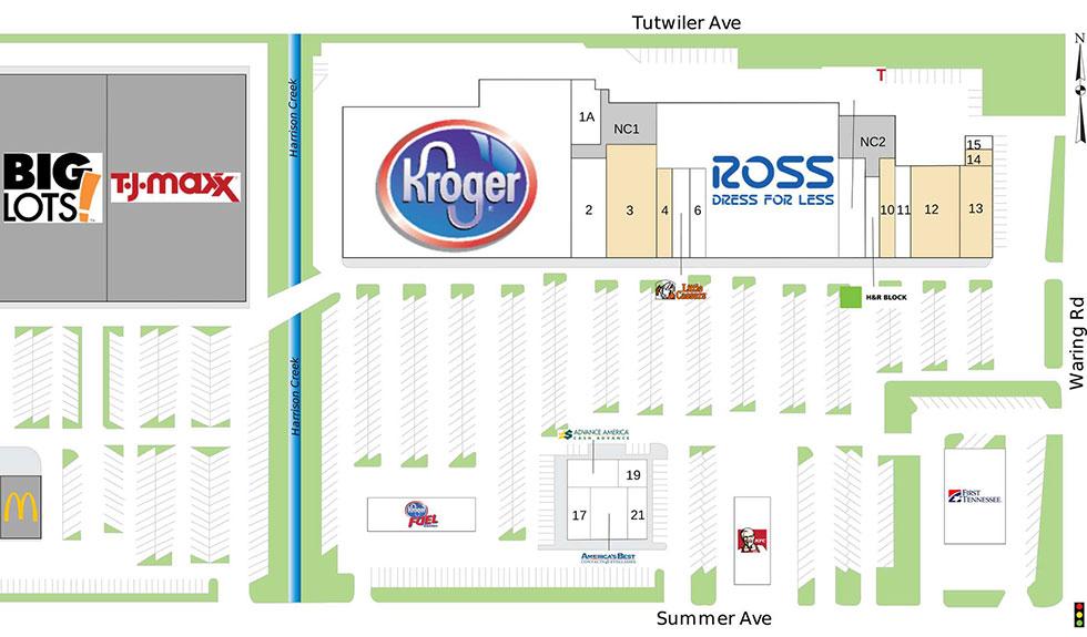 Summer Center site plan