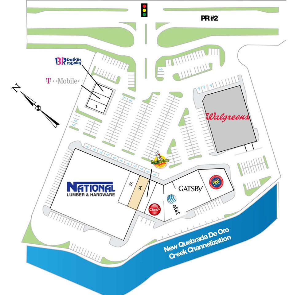 University Plaza Mayaguez site plan