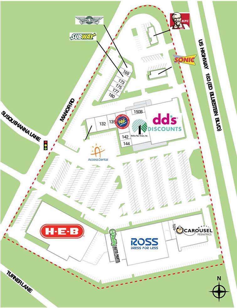 Springdale site plan