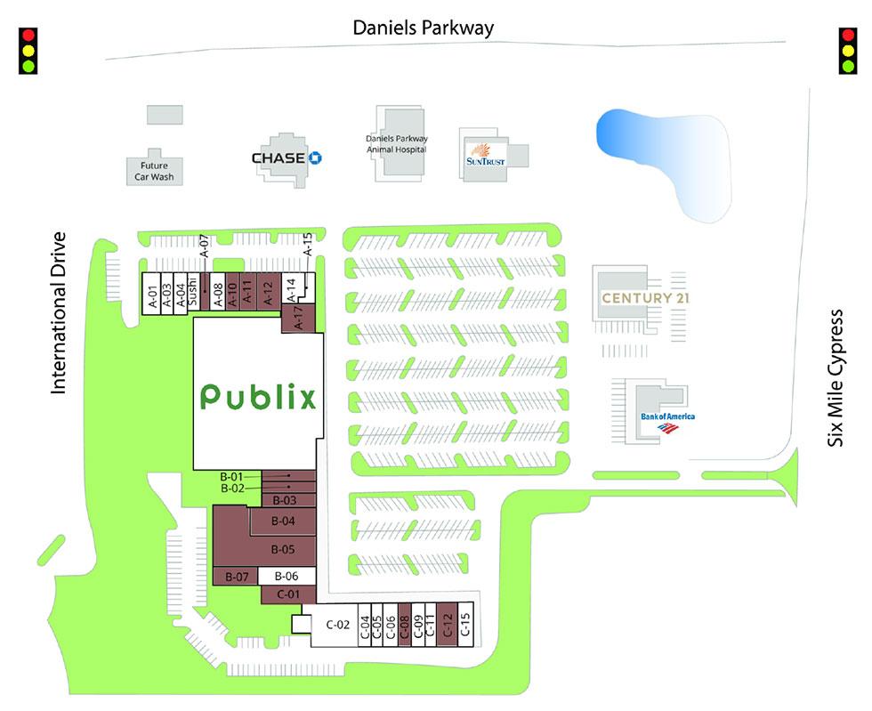 Daniels Crossing siteplan